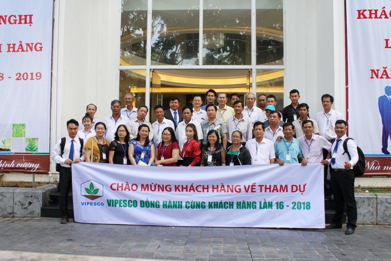 Vipesco đồng hành cùng khách hàng lần thứ 16 - 2018 diễn ra từ ngày 21-25/08/2018